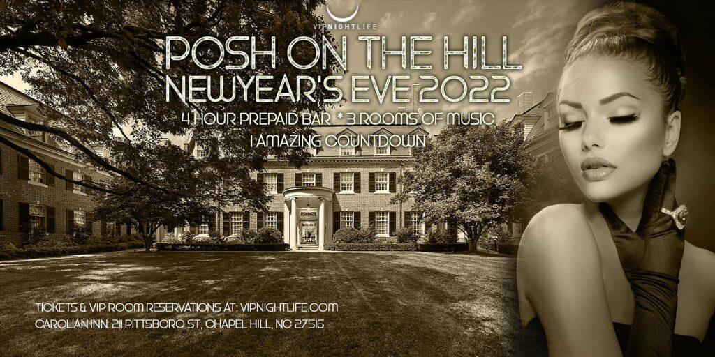 2022 Posh on the Hill New Year's Eve Party