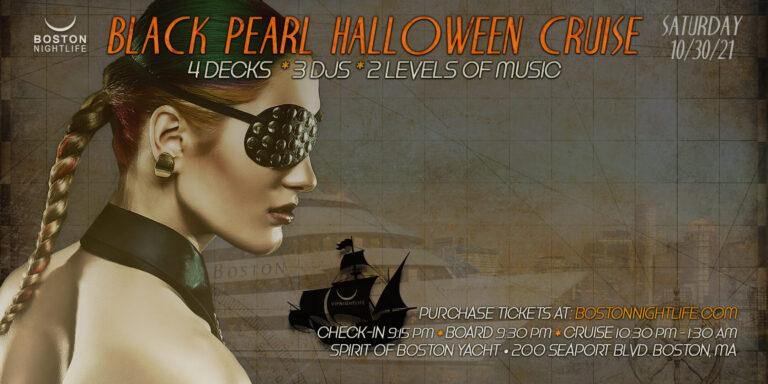 Black Pearl Boston Halloween Party Cruise