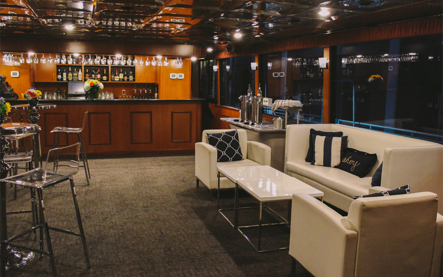 Boston Seaport Elite Luxury Yacht Cocktail Deck