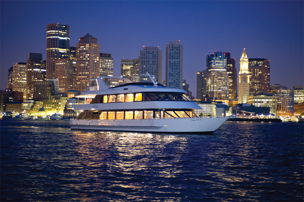 Boston Seaport Elite Luxury Yacht Exterior