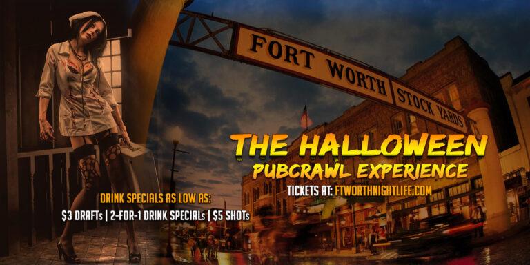 Fort Worth Texas Halloween Pub Crawl - Saturday