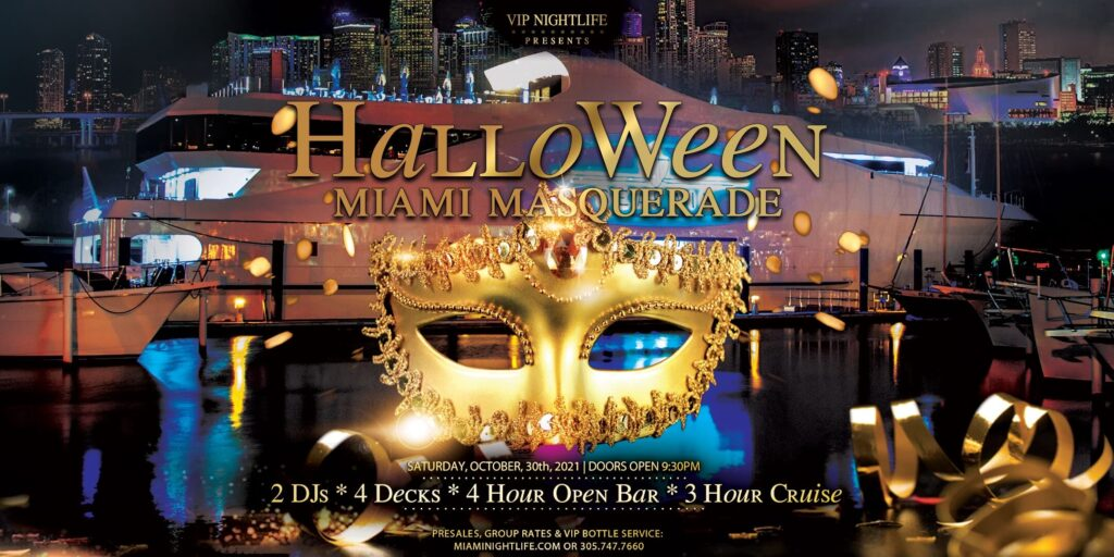 Miami Halloween Party Cruise - Saturday Night Masquerade Costume Party