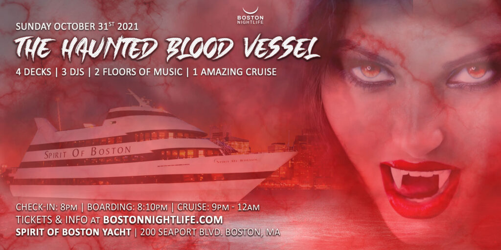 Haunted Blood Vessel Boston Halloween Cruise
