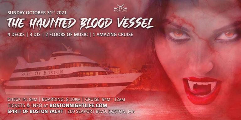 Haunted Blood Vessel Boston Halloween Cruise
