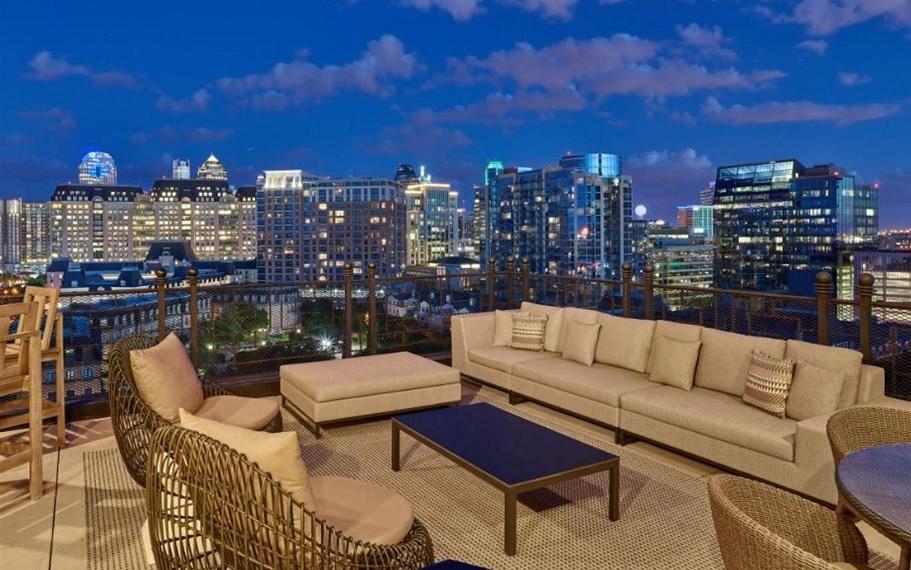 Le Meridien Stoneleigh Penthouse Terrace