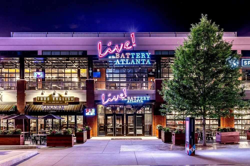 Live at the Battery Atlanta Exterior