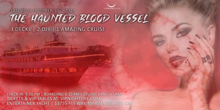 Marina Del Rey Halloween Haunted Blood Vessel 2021