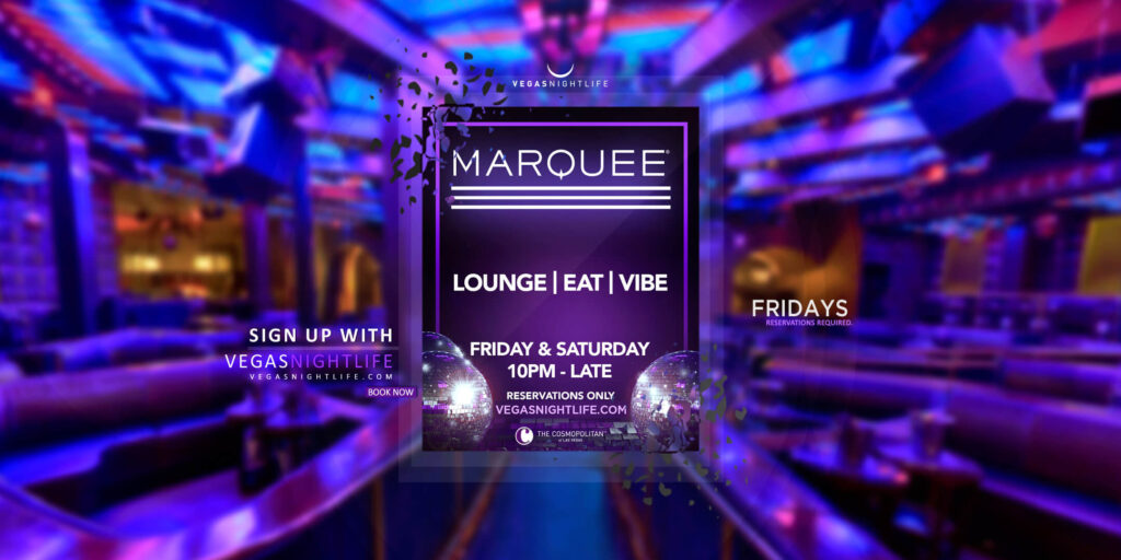 Marquee Fridays at Marquee Las Vegas