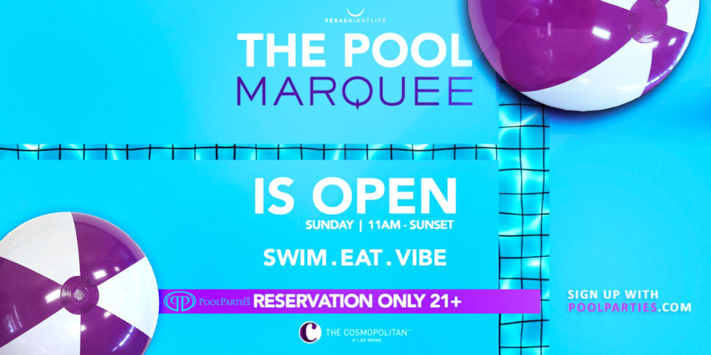Sunday Pool Party Marquee Las Vegas