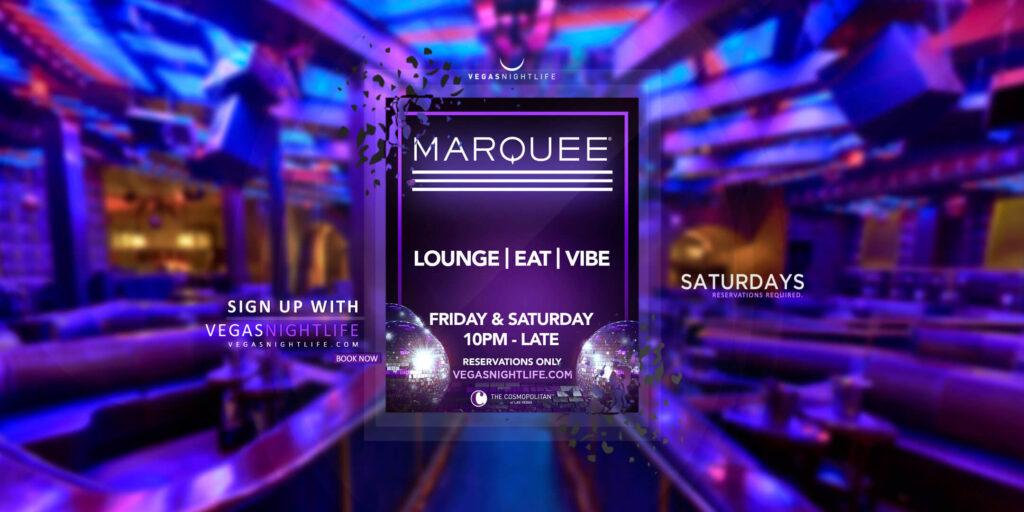 Marquee Saturday Night Las Vegas