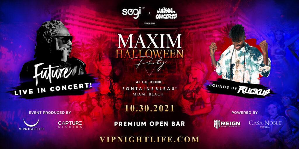 Maxim Halloween Party Miami