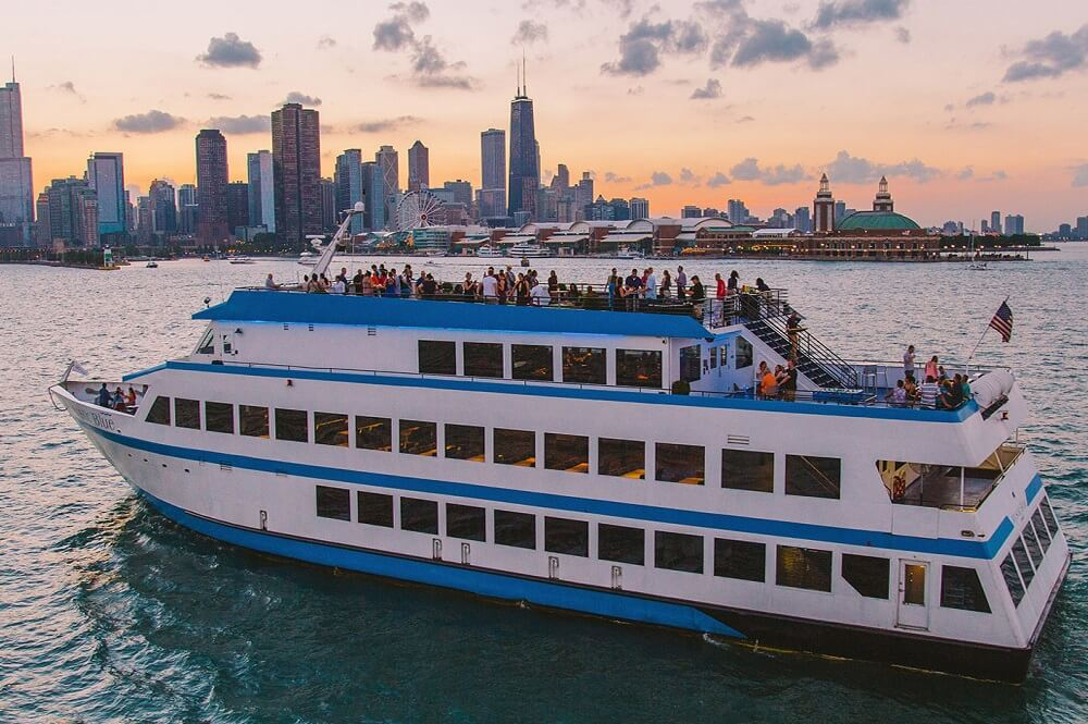 Mystic Blue Yacht Chicago