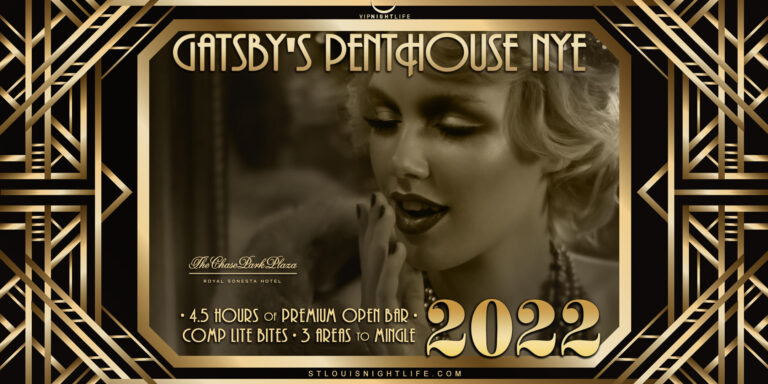 St. Louis New Year's Eve Party 2022 - Gatsby's Penthouse