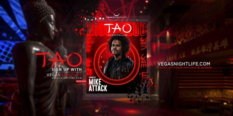 TAO Nightclub Friday   DJ Mike Attack