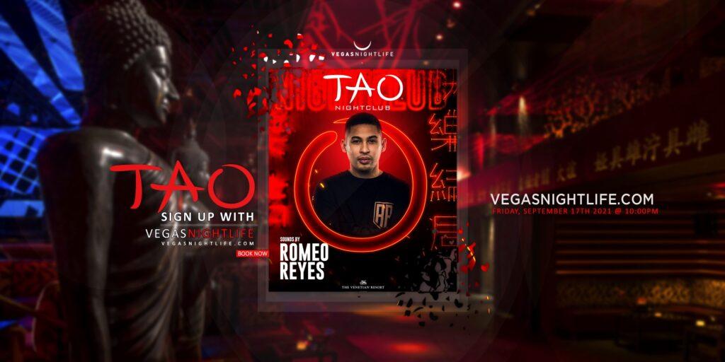 TAO Nightclub Friday   DJ Romeo Reyes