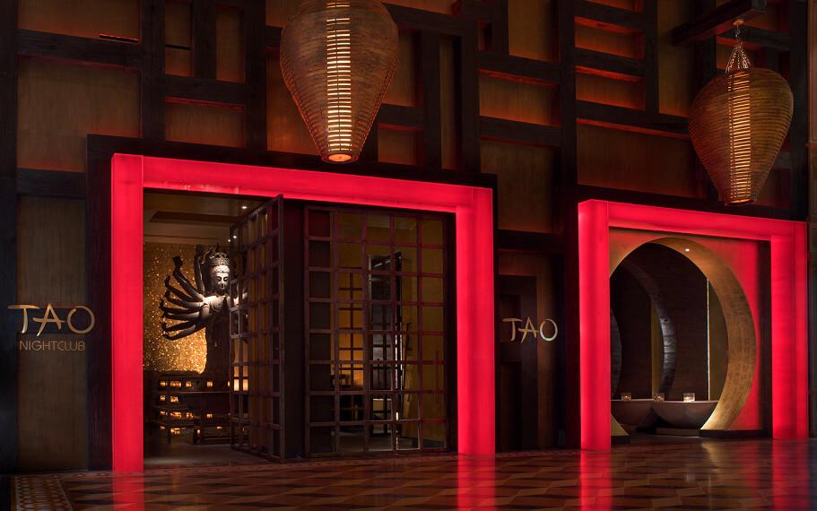 TAO Las Vegas Venue Entrance