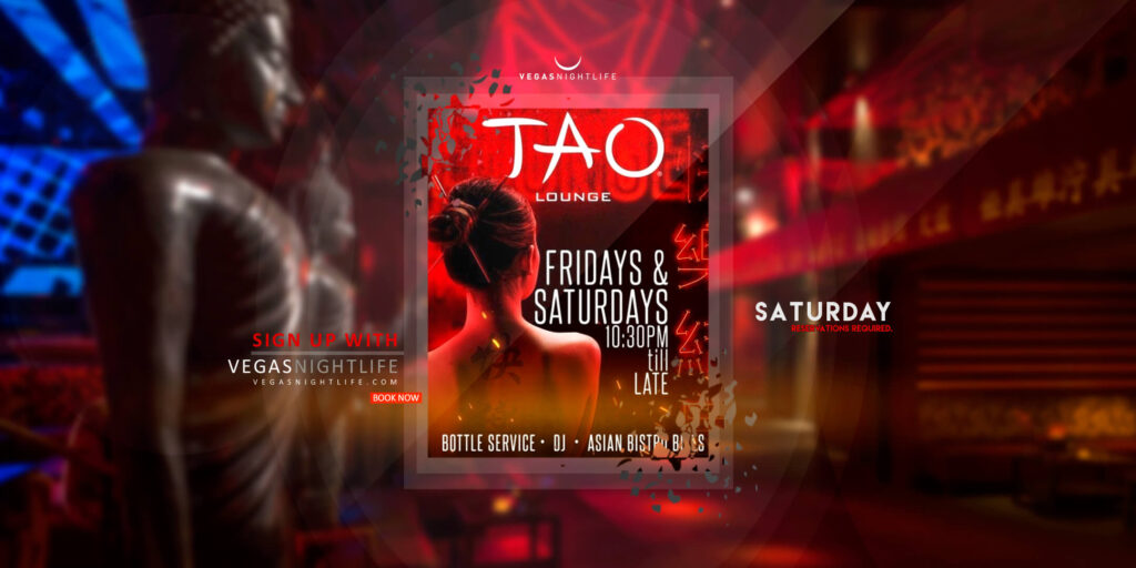 Tao Lounge Saturday Las Vegas