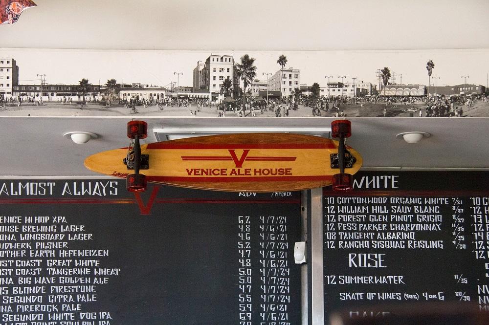 Venice Ale House Menu