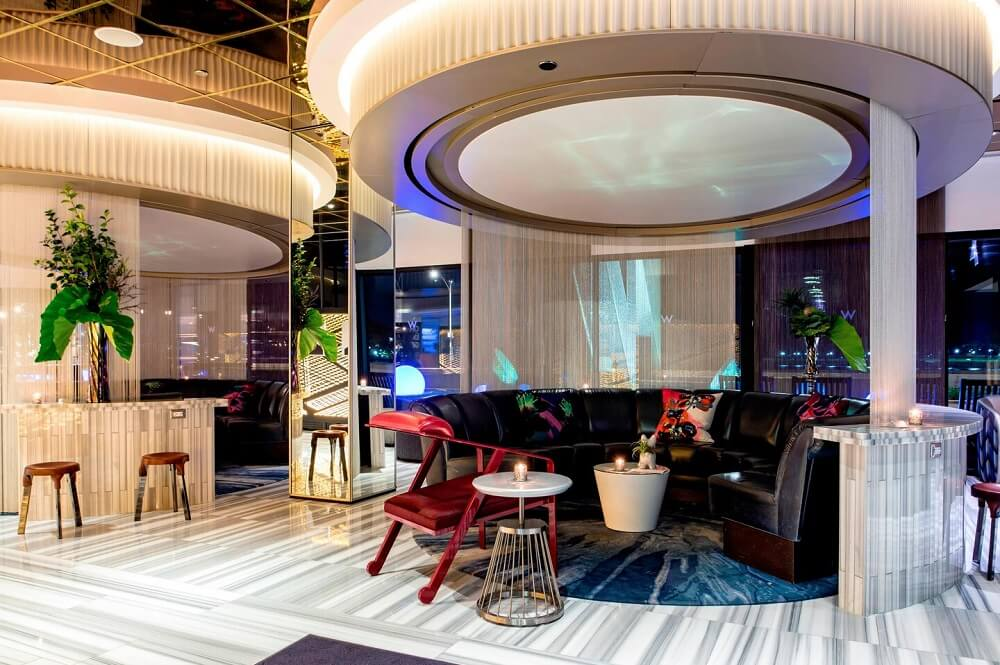 W Chicago - Lakeshore | Living Room