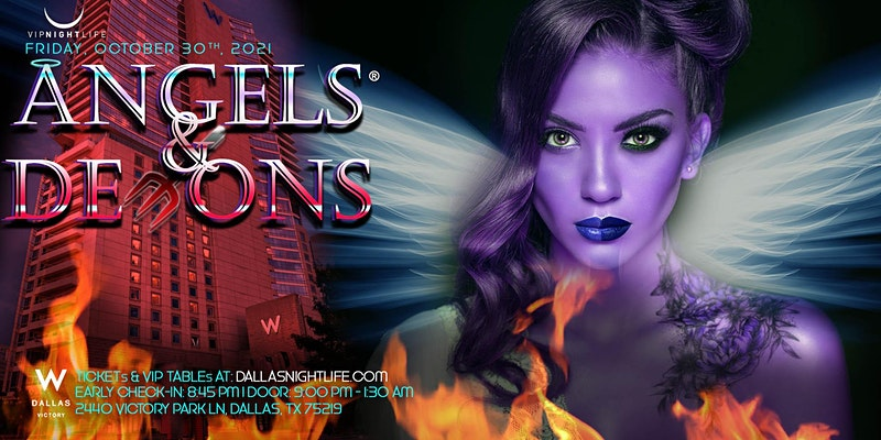 W Dallas Halloween Party - Angels & Demons