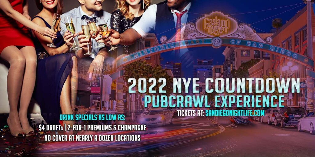 San Diego Pub Crawl New Year's Eve Party